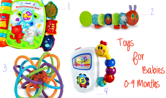 Top Toys for Babies Ages 0-9 Months